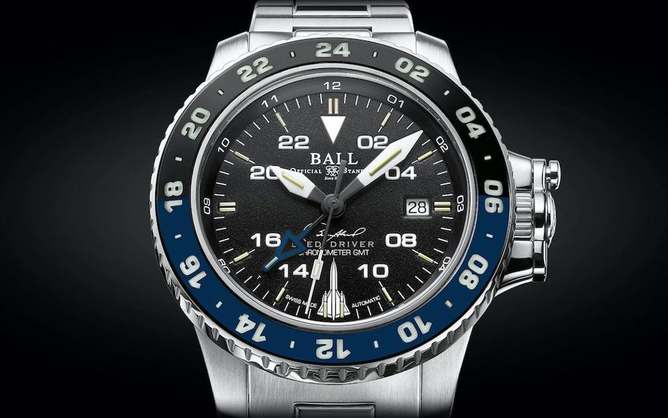 Ball Engineer Hydrocarbon AeroGMT Sled Driver watch, Brian Shul