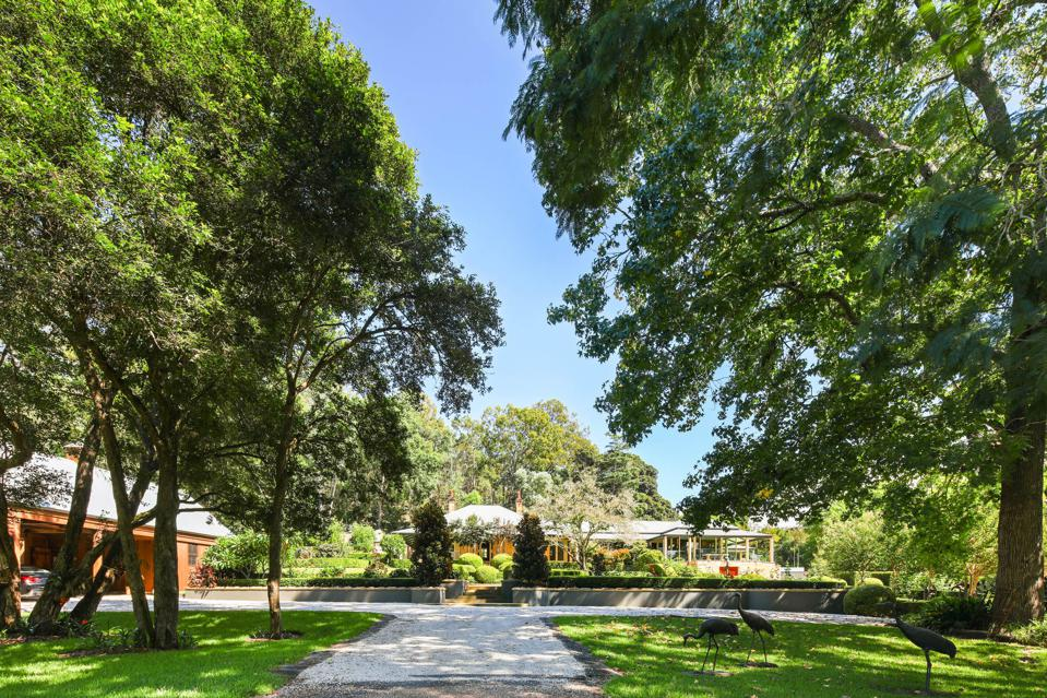 park-like grounds venetiaville estate sydney 1235 West Portland Road New South Wales