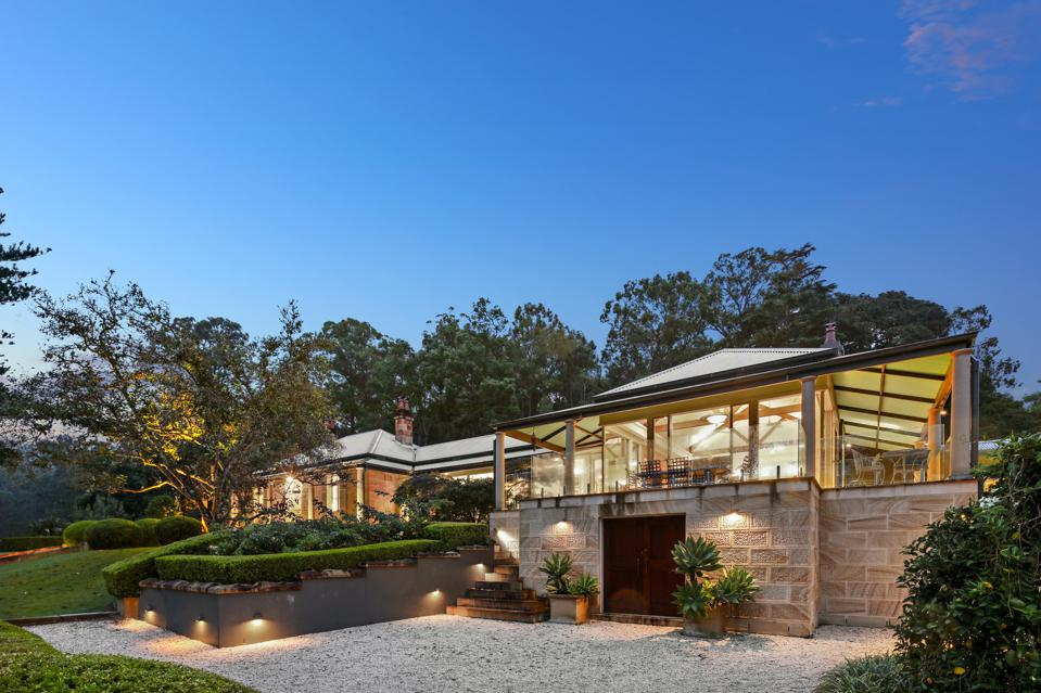 exterior of house at 1235 West Portland Road Sydney, New South Wales, Australia