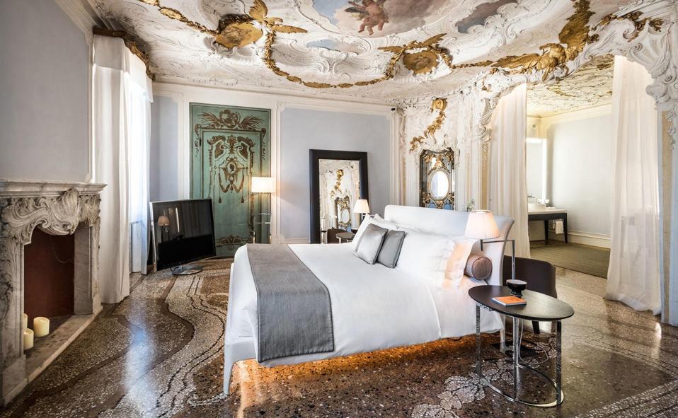 Aman Venice Hotel Room