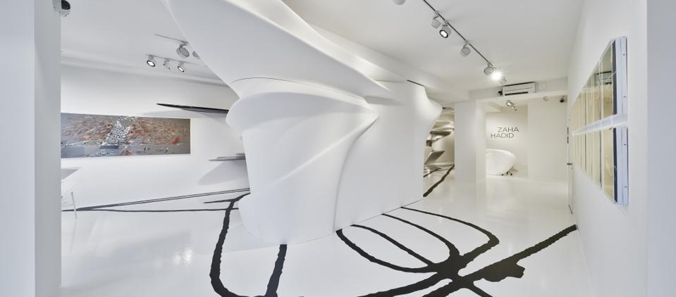 Zaha Hadid Abstracting Landscapes at Gallery Gmurzynska Paradeplatz Zurich
