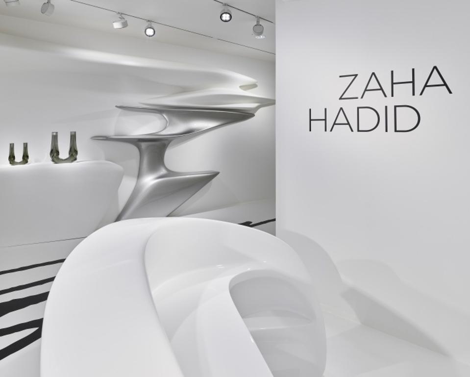 Zaha Hadid Abstracting The Landscape at Gallery Gmurzynska Paradeplatz Zurich