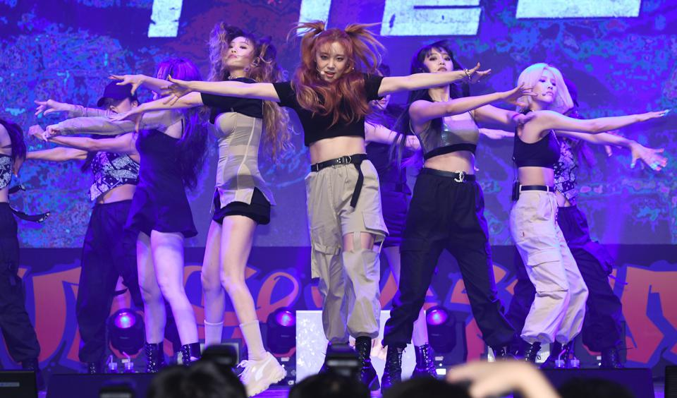 (G)I-dle Second Single Album 'Uh-Oh' Release Showcase In Seoul
