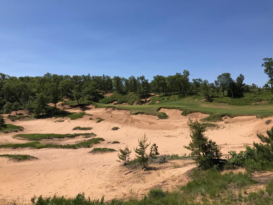 Mammoth Dunes-Golfplatz in Wisconsin