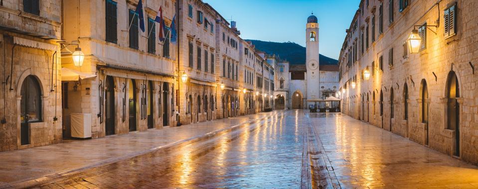 Stradun, the main street in Dubrovnik's Old Town.