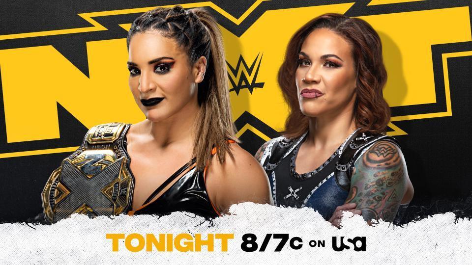 Raquel Gonzalez vs. Mercedes Martinez for the NXT Women's Championship.