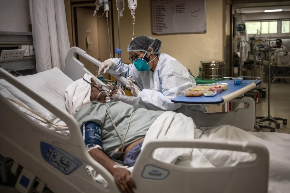 Hospitals Burst At The Seams In India