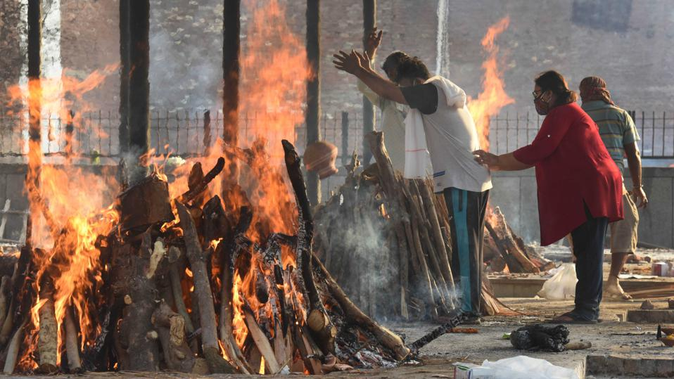 Cremation Of Covid-19 Victims