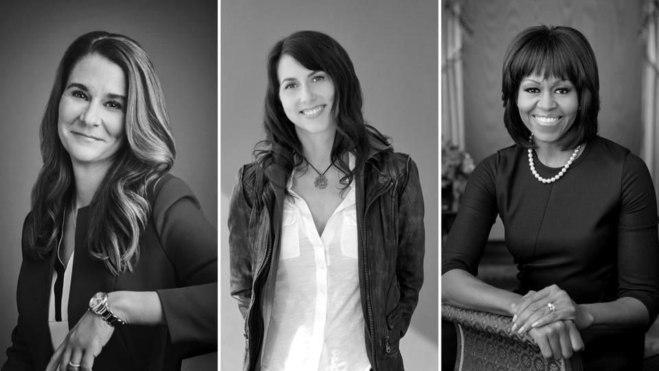 photos de Melinda French Gates, Mackenzie Bezos, Michelle Obama