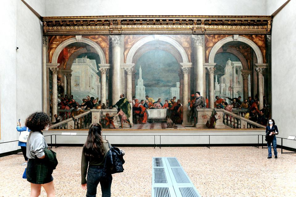 Gallerie dell'Accademia Reopening After COVID-19 Lockdown