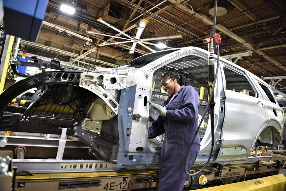 Studies show there aren't enough applicants for open auto plant jobs.