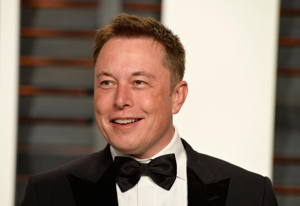 Elon Musk's work habits include strategic multitasking.