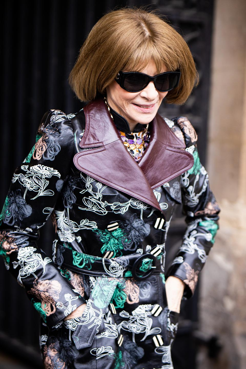 Vogue editor-in-chief Anna Wintour has impeccable work habits.