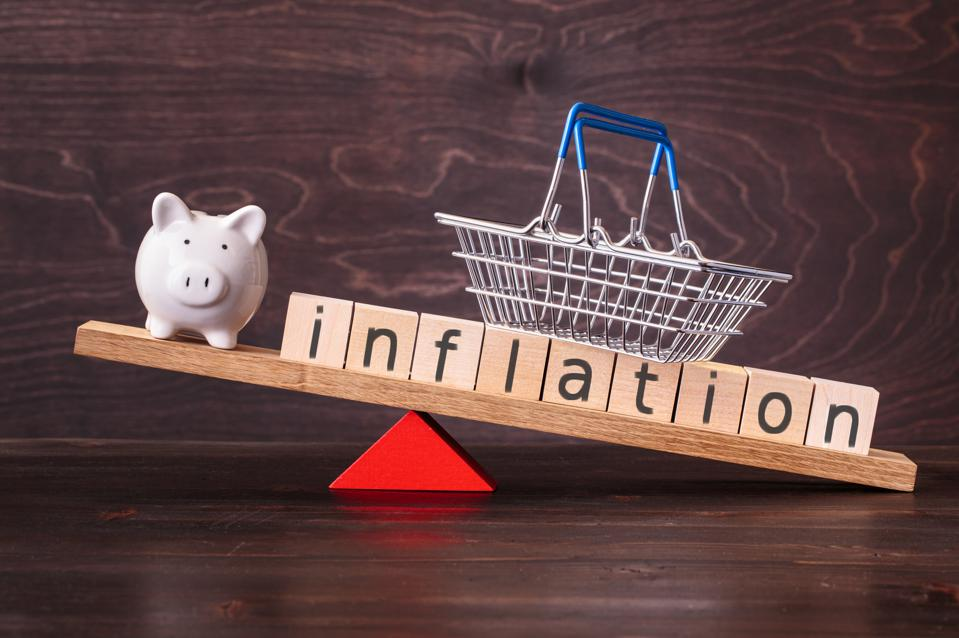 Inflation and piggy bank on seesaw