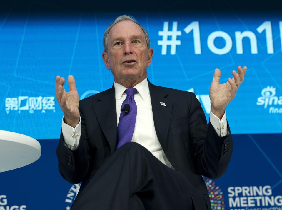 Bloomberg Donation