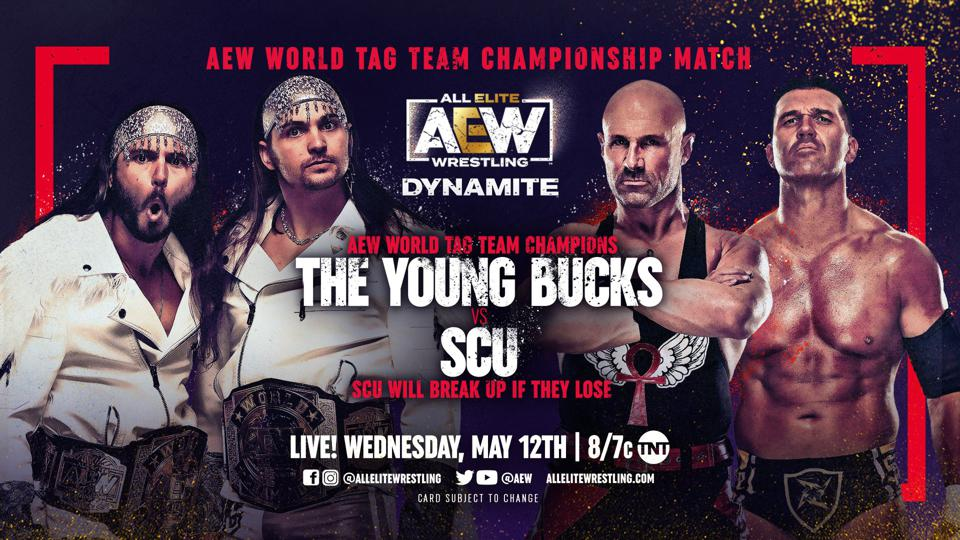 Young Bucks vs. SCU for the AEW Tag Team Championships