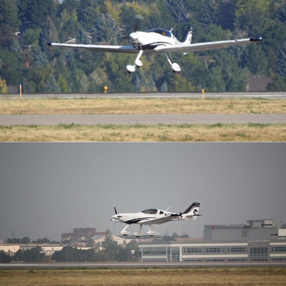 726 Bye Aerospace eFlyers taking off and landing