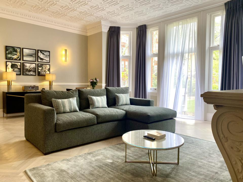Starting at £350 per night, The Apartments by 11 Cadogan Gardens present an amazing deal for such a spacious five-star property
