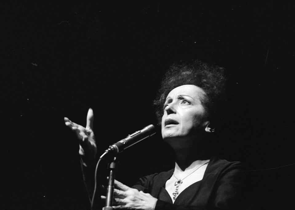 Edith Piaf (1915-1963), French singer. Paris, Olym
