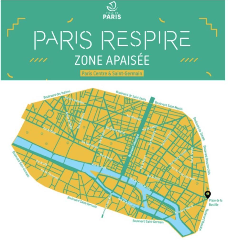 ZTL map Paris
