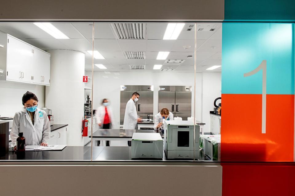Scientists at Motif FoodWorks