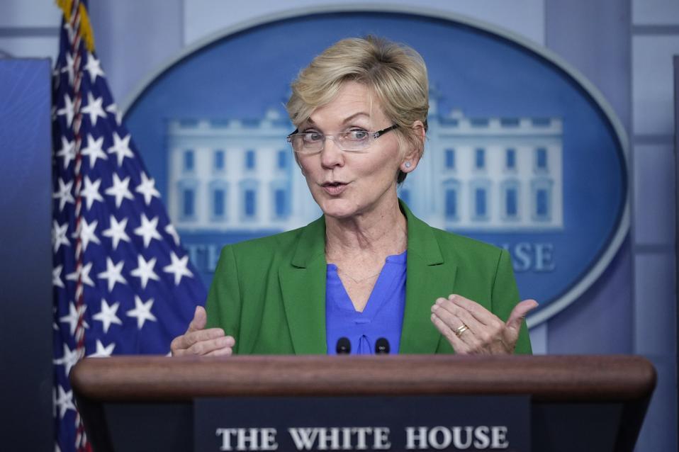 White House Press Secretary Jen Psaki Briefs Media
