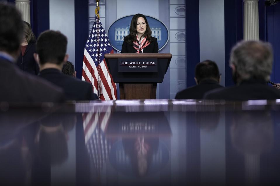 White House Press Secretary Jen Psaki Delivers Daily Briefing
