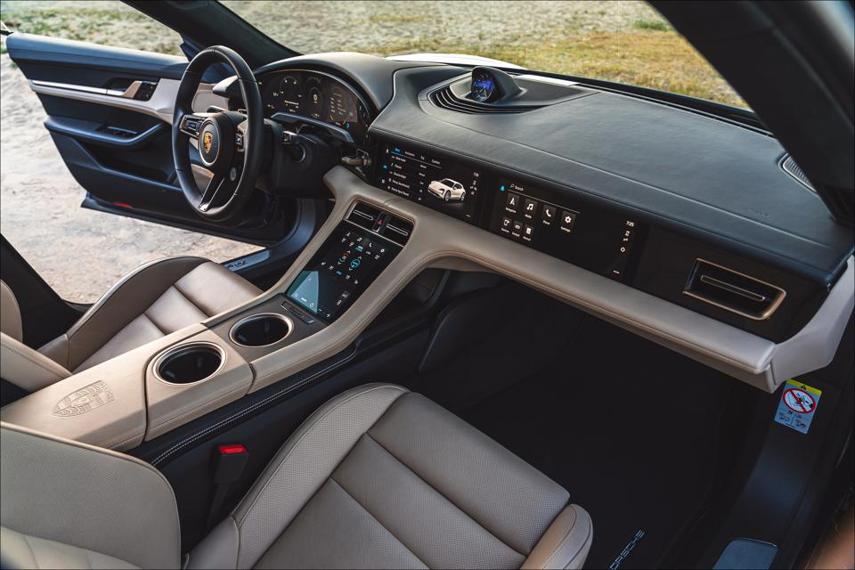 Optional copilot's 10.9-inch touchscreen that can control navigation, audio.