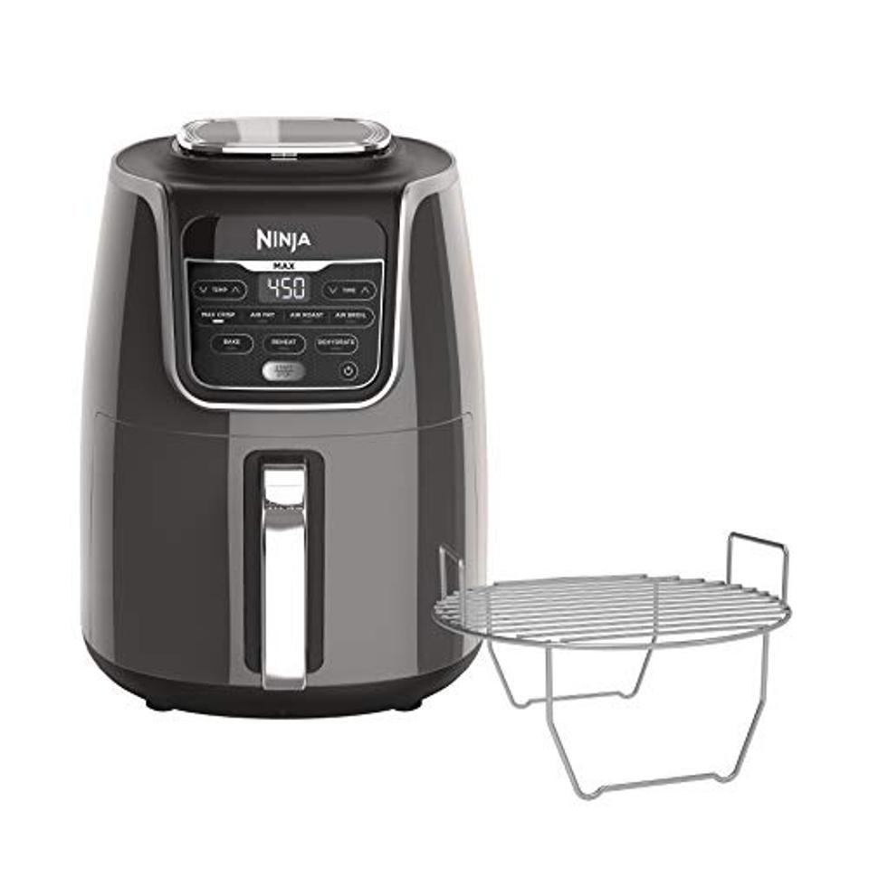Air fryers on sale: Ninja AF161 Max XL Air Fryer that Cooks, Crisps, Roasts, Broils, Bakes, Reheats and Dehydrates, with 5.5 Quart Capacity, and a High Gloss Finish