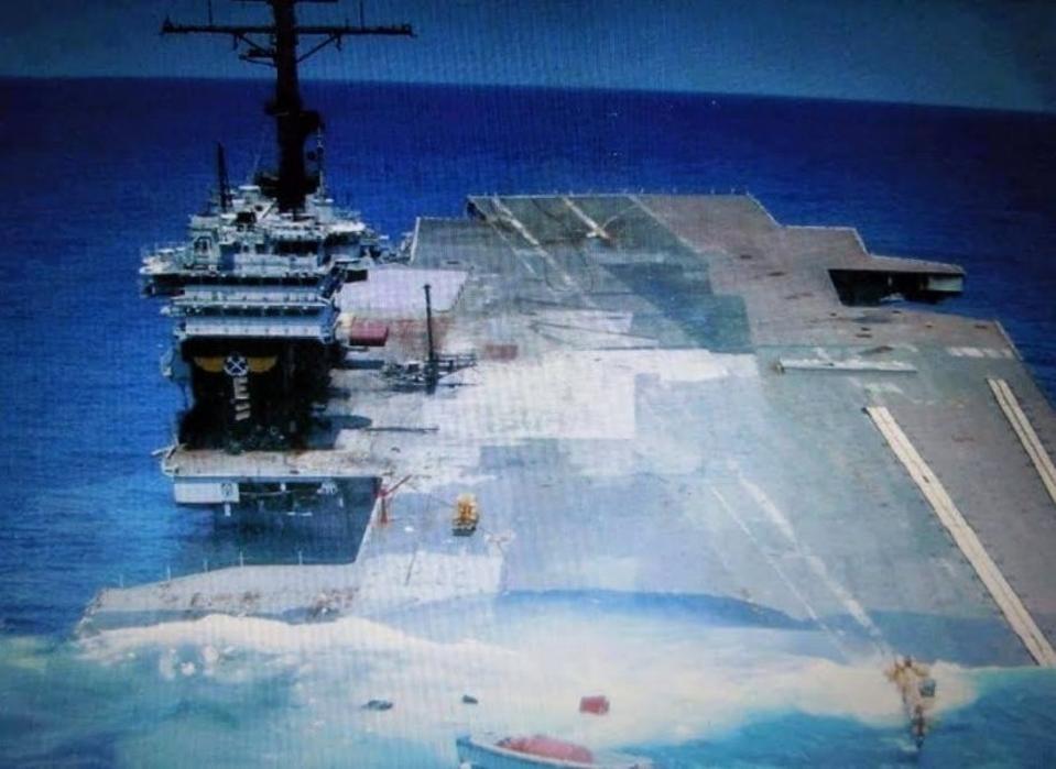 USS America SINKEX