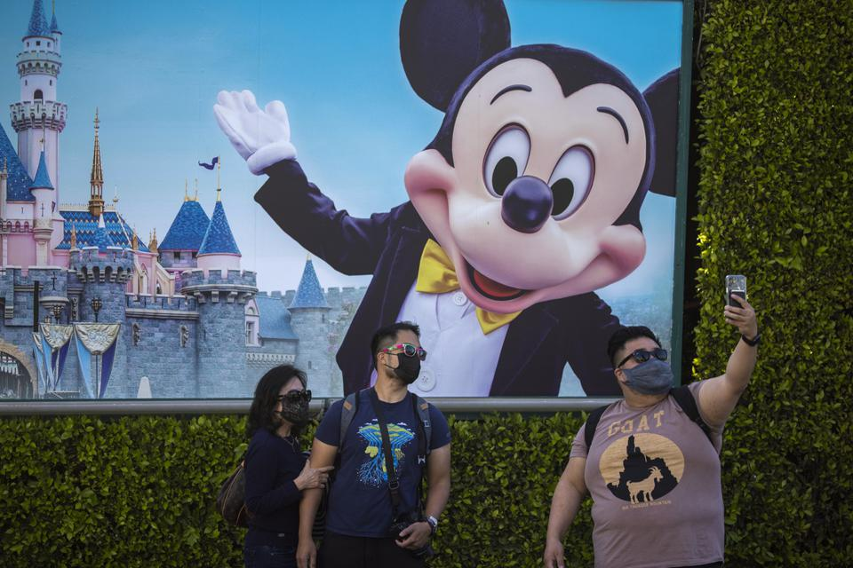 Disneyland Reopens For First Time Since Beginning Of Pandemic