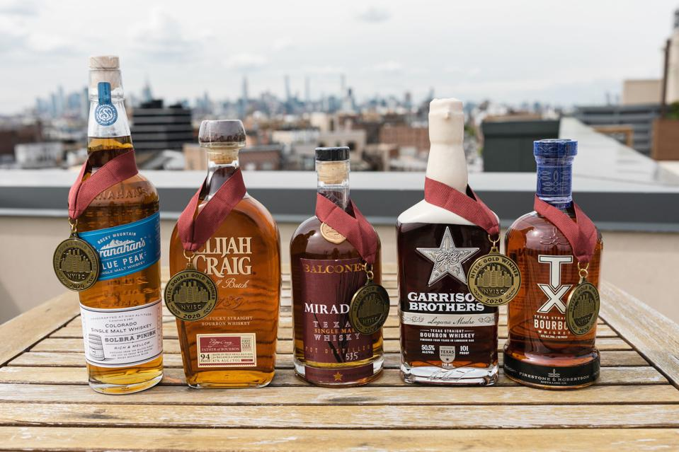 Some of the American Whiskey, Double Gold Medalists