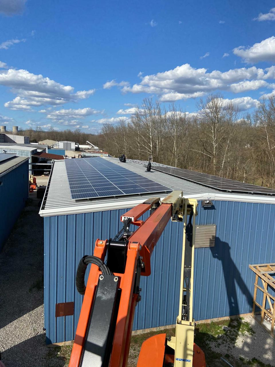 Nitro Construction Services wants to sell solar energy to West Virginia commercial and industrial customers.