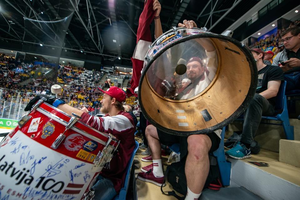 Sweden v Latvia: Group B - 2019 IIHF Ice Hockey World Championship Slovakia