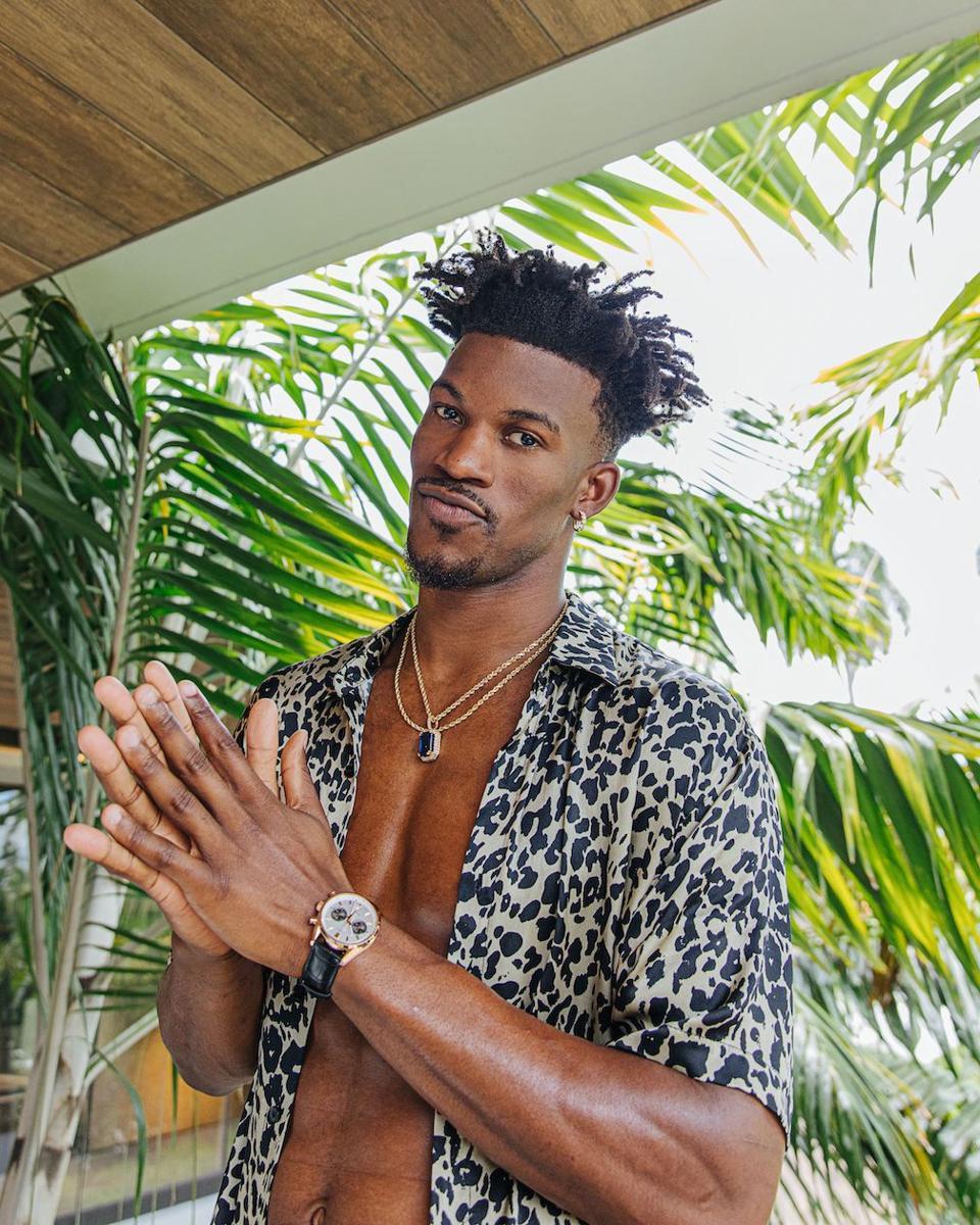 Miami Heat's Jimmy Butler, TAG Heuer