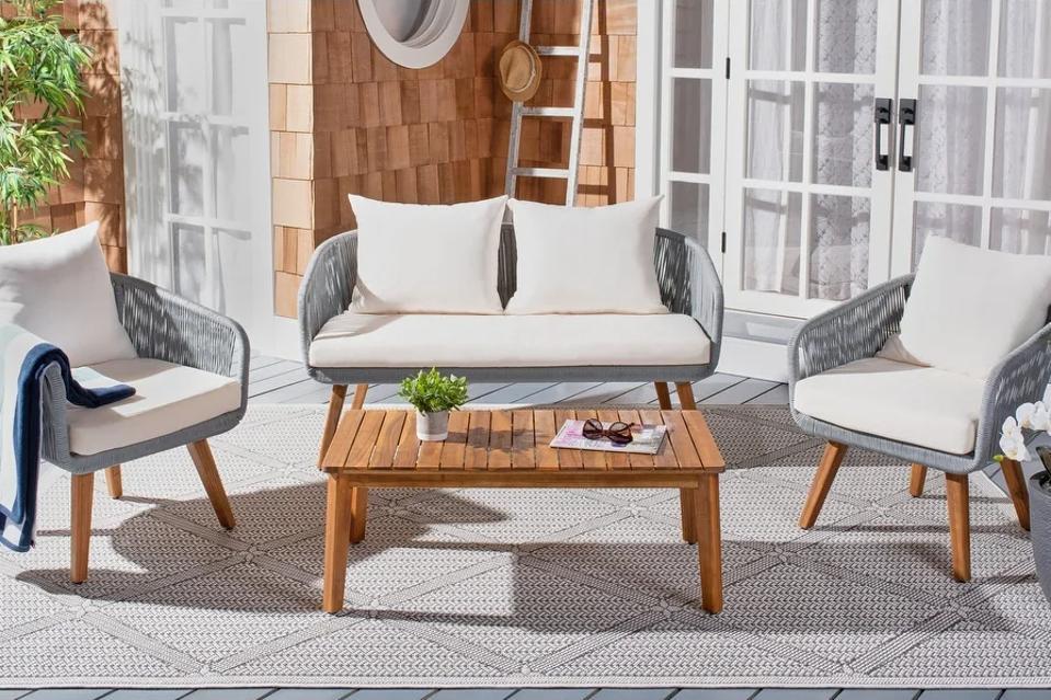 Best sales online: Overstock patio furniture on deck