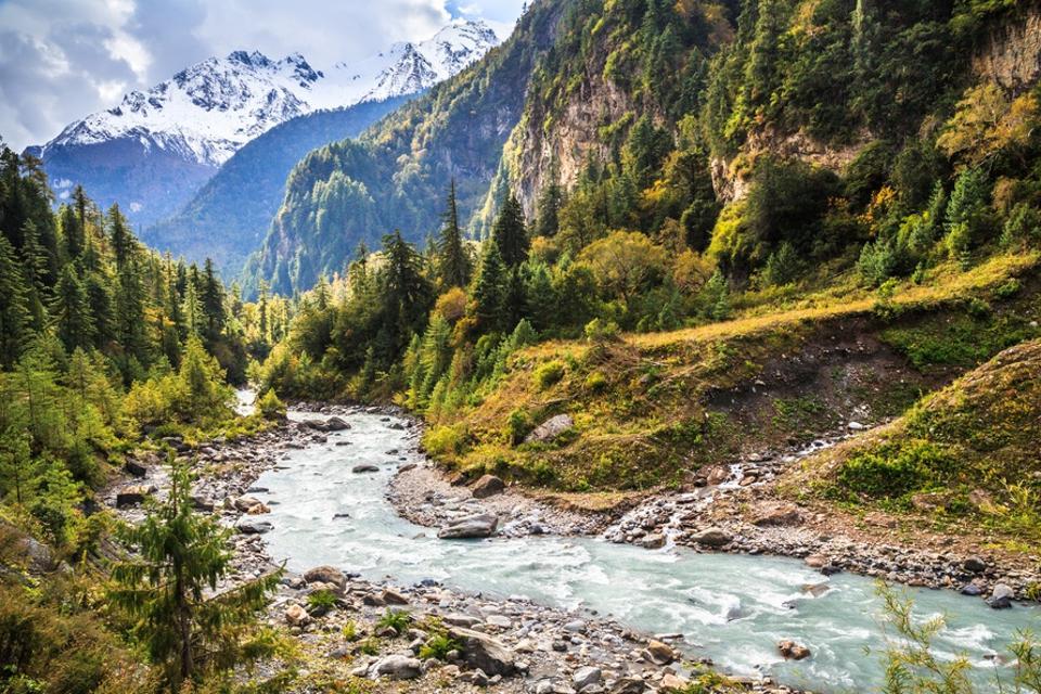 Marshyangdi River, Annapurna Circuit, Nepal