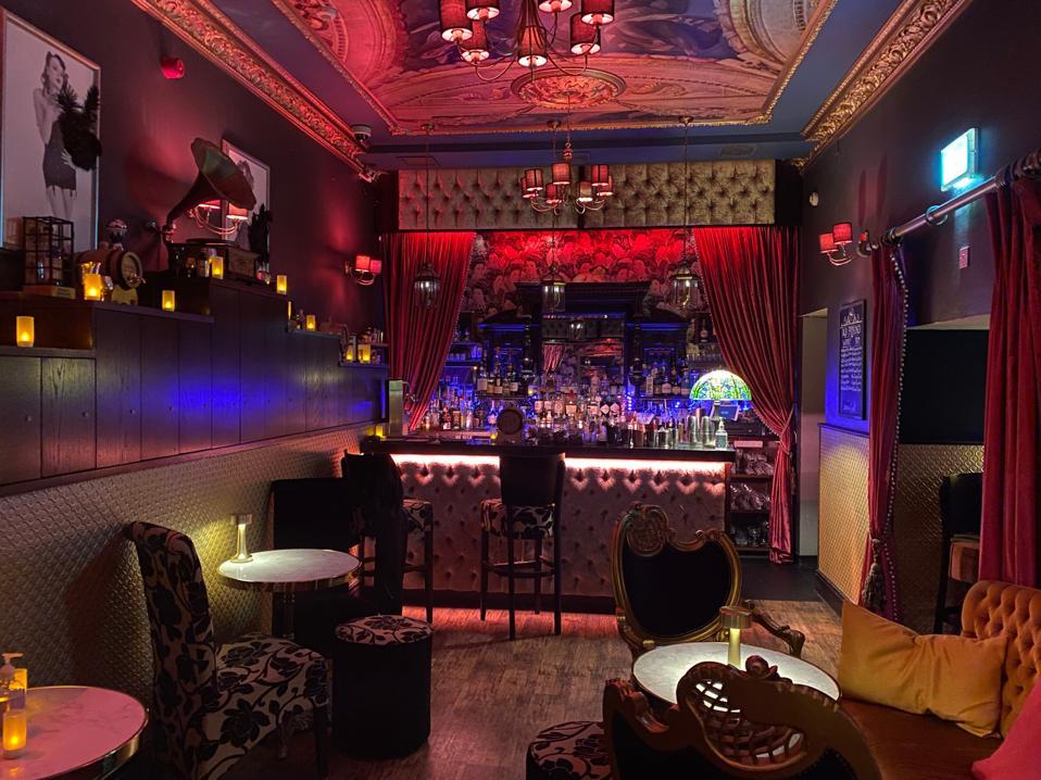 The Blind Pig speakeasy bar in Jersey
