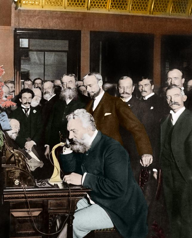 Alexander Graham Bell is generally credited with inventing the telephone, though others have been identified as important to the invention of the telephone.