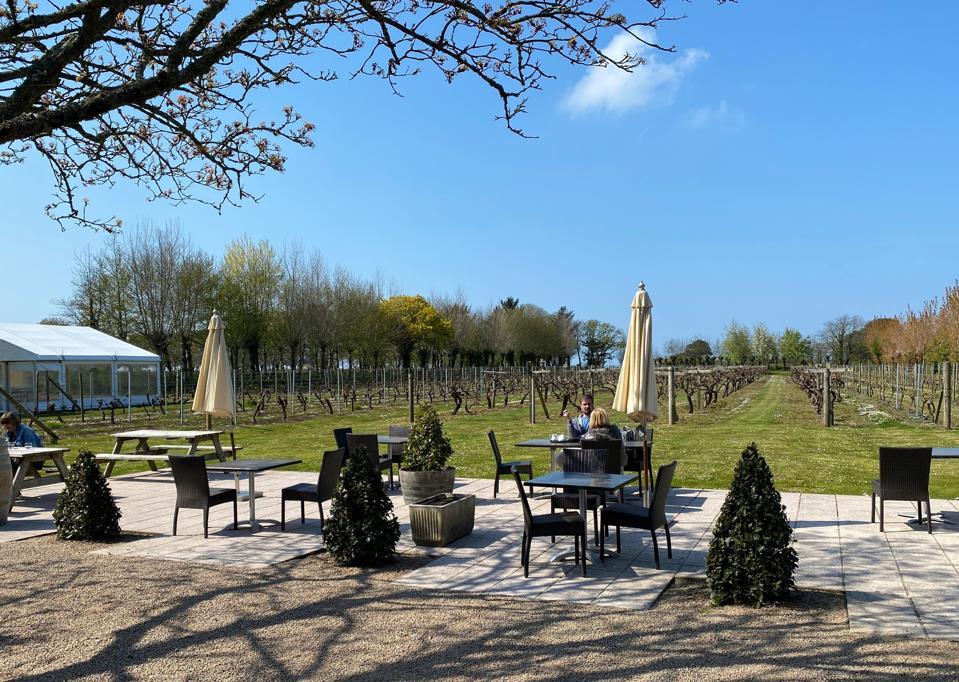 La Mare Vineyard and restaurant Jersey