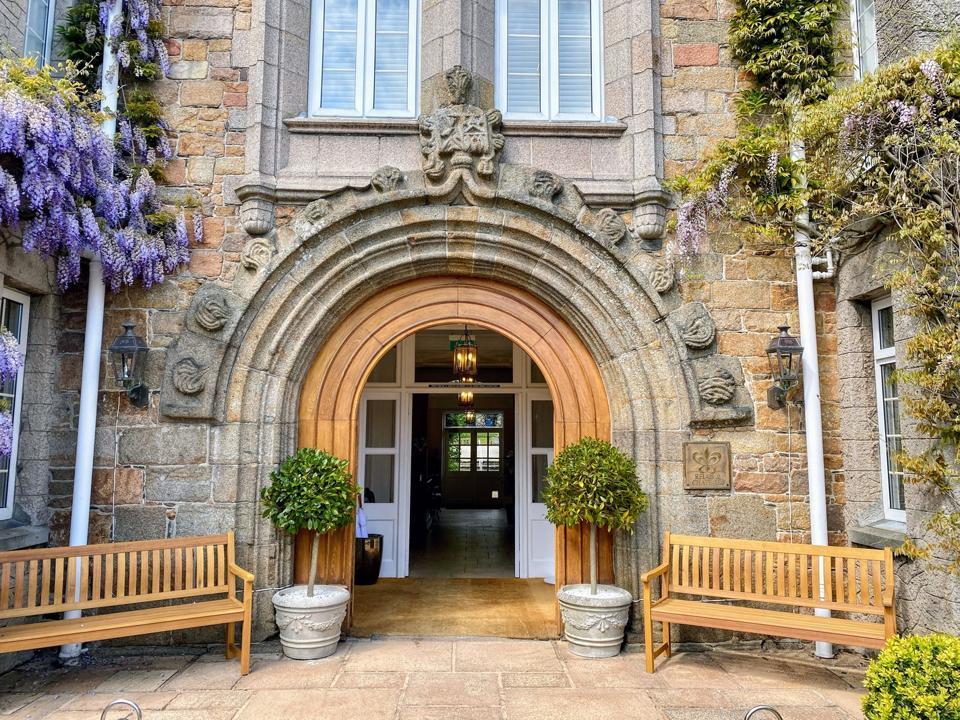 Longueville Manor entrance