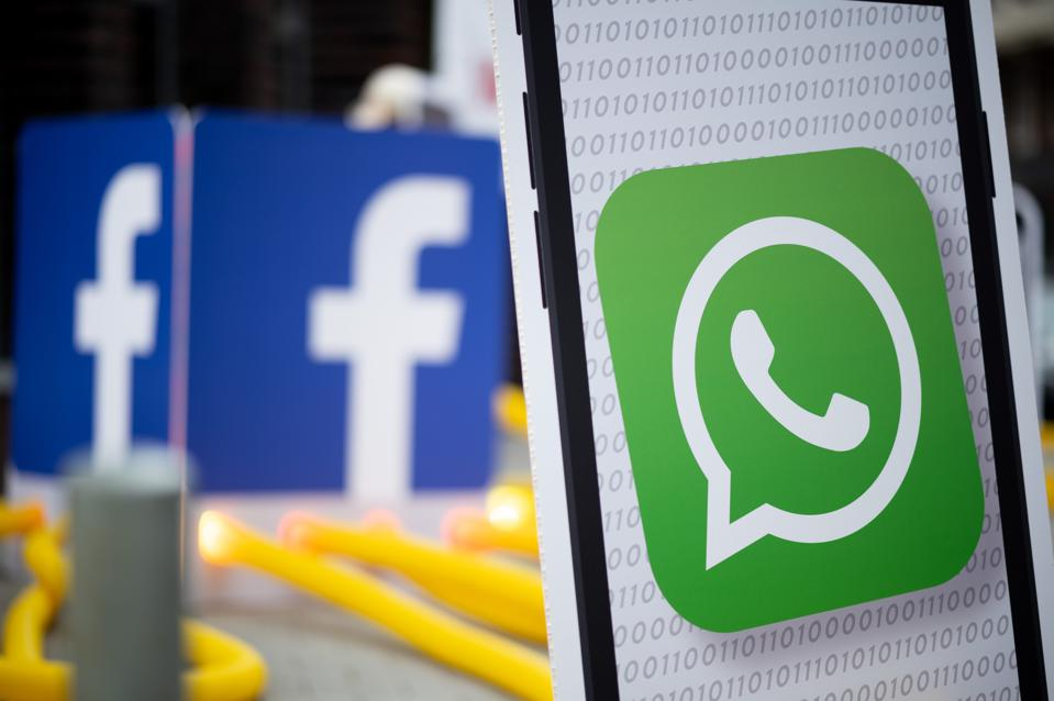 Demo against new terms of use of WhatsApp