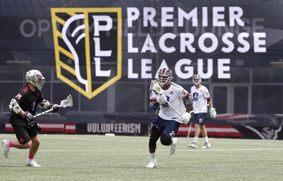 Mostly played in high schools and colleges, lacrosse is becoming a more prominent professional sport, led by the Premiere Lacrosse League.