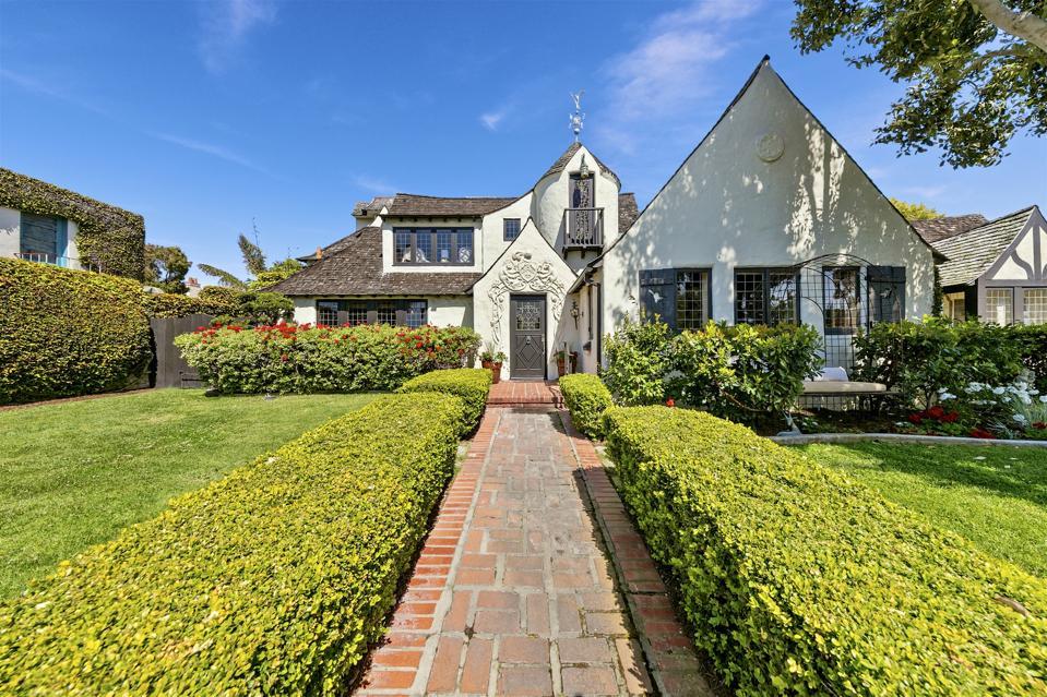 English Tudor Landmark Estate in historic La Jolla Beach Barber Tract