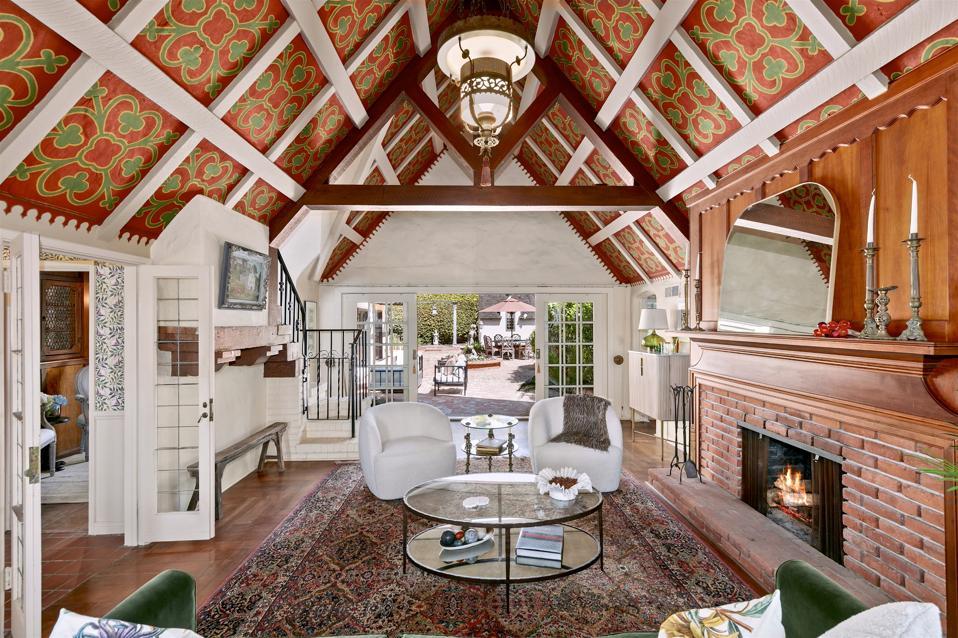 english tudor landmark estate  7231 Monte Vista Avenue