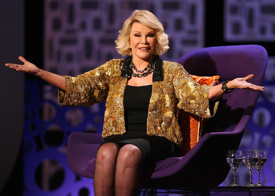 Comedy Central's ″Roast of Joan Rivers″ - Show