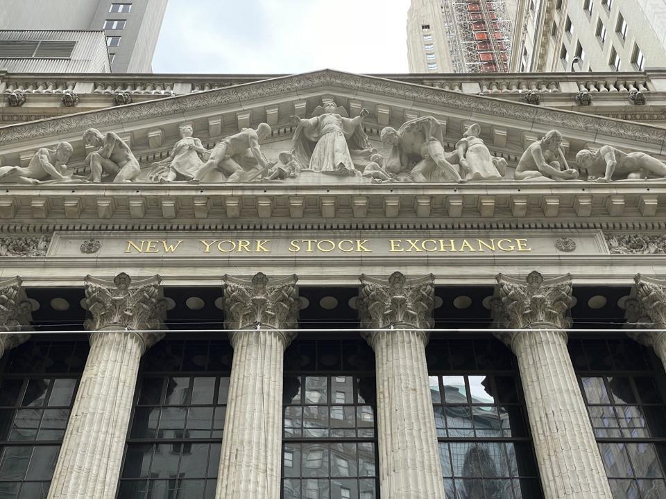 Atmosphere around the New York Stock Exchange - 4/14/21