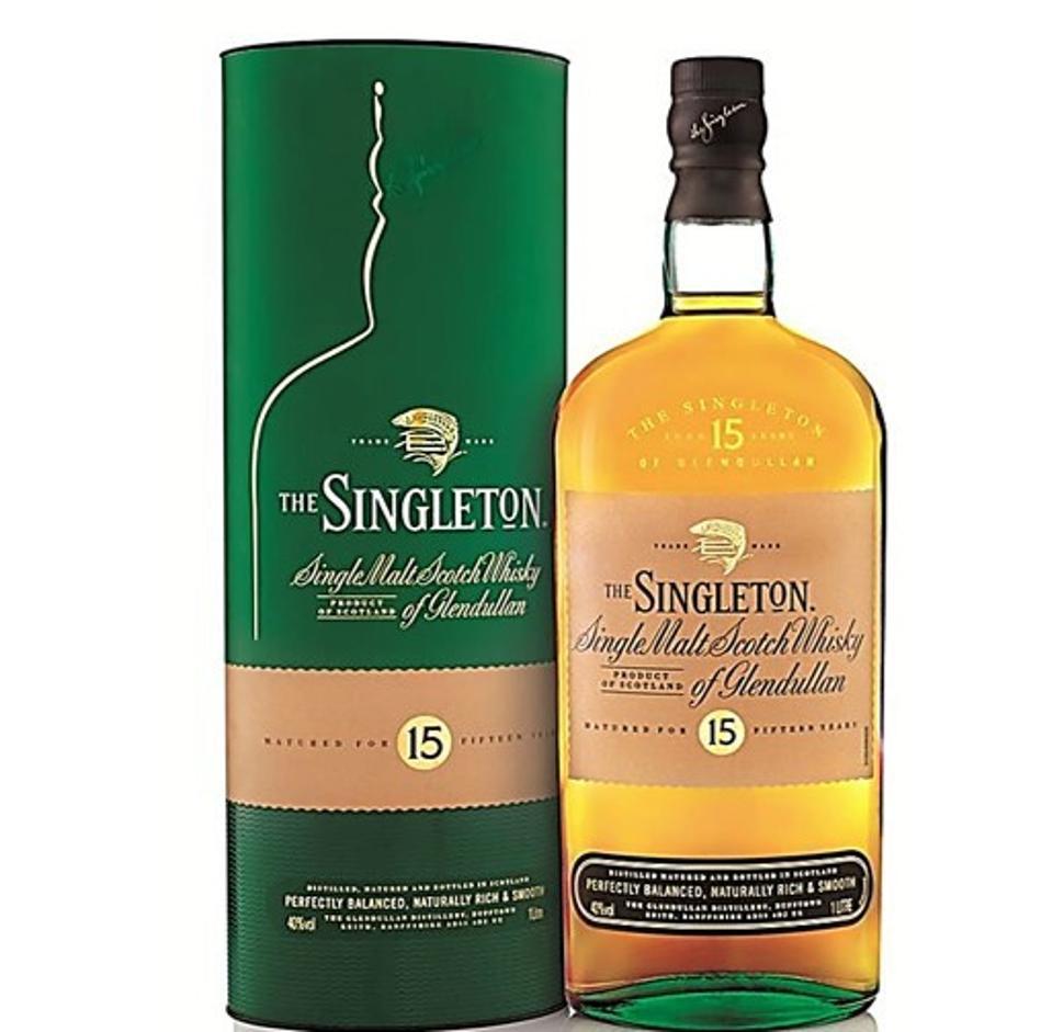 e Singleton of Glendullan, 15 YO Single Malt Scotch Whisky