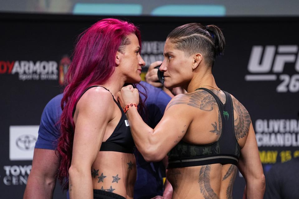 UFC 262: Gina Mazany and Priscila Cachoeira meet at the top of the early prelims