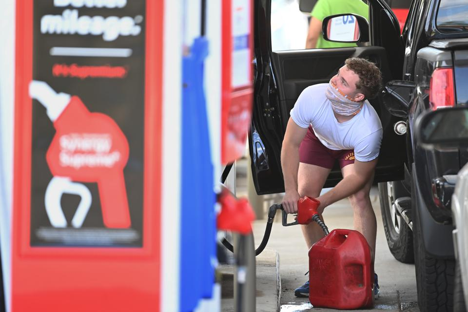 Gas shortages - Springfield, VA
